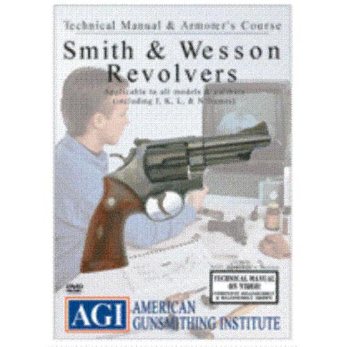 AGI S&W Smith & Wesson Revolver Pistol Gunsmith DVD
