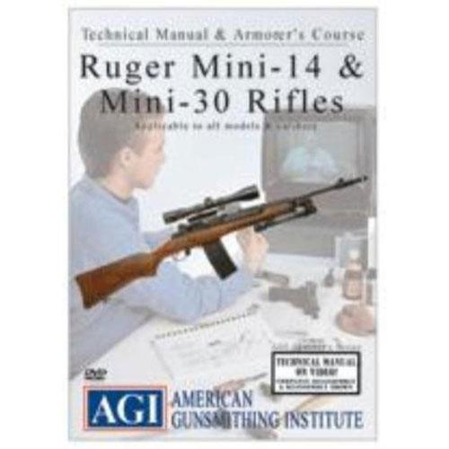 agi ruger mini 14 30 rifle gunsmith course 1154 dvd firearm rh ftfindustries com mcculloch mini mac 30 manual scm mini 30 manual