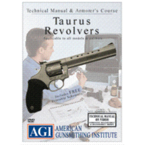 AGI TAURUS Double Action REVOLVER Repair Gunsmith DVD