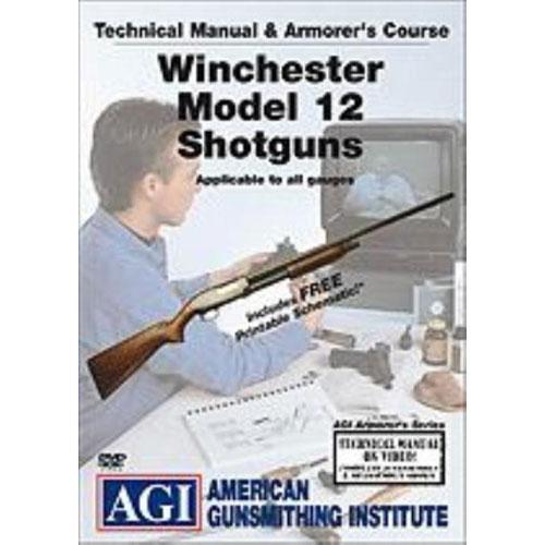 AGI Winchester Model 12 Shotgun GUNSMITH REPAIR DVD