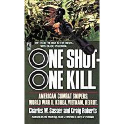 One Shot One Kill VIETNAM WWII BEIRUT WAR SNIPER BOOK