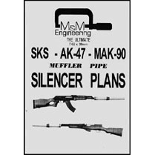 gun silencer plans blueprints drawings
