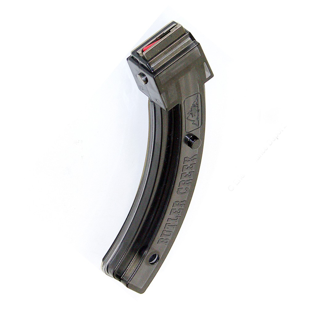 RUGER 10/22 or Intratec TEC-22 Butler Creek Steel Lips Smoke 25 Round  Magazine